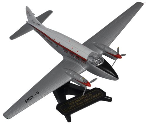 de Havilland DH.104 Dove, Dan Air, Oxford Diecast 1:72 Scale Models Item Number 72DV001