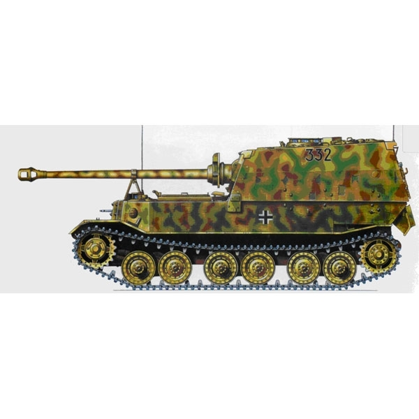 Elefant 653rd Poland '44 1:72, EasyModel Military Models, Item Number EM36227