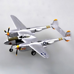 P-38 Lightning Maj Elliot Summer (1:72), EasyModel Aircraft Models Item Number EM36434