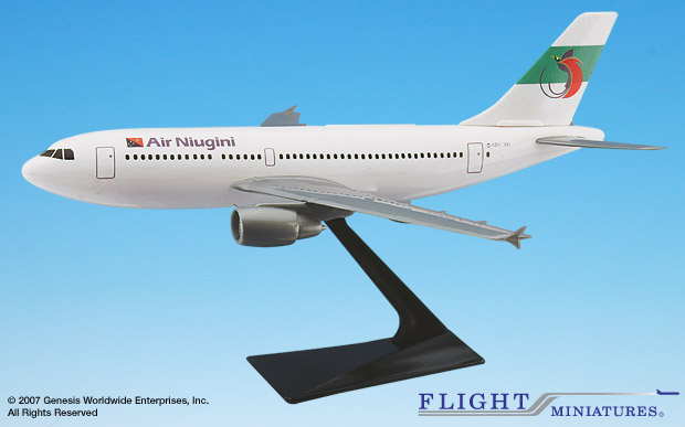 Air Niugini A310 (1:200), Flight Miniatures Snap-Fit Airliners, Item Number AB-31020H-017