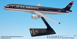 US Airways A321-200 (1:200), Flight Miniatures Snap-Fit Airliners, Item Number AB-32100H-009