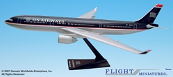 US Airways A330-300 (1:200), Flight Miniatures Snap-Fit Airliners, Item Number AB-33030H-009