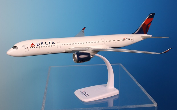 Delta A350-900 New Colors 2007 (1:200), Flight Miniatures Snap-Fit Airliners, Item Number AB-35090H-001