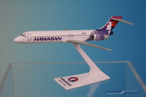Hawaiian 717-200 New Colors (1:200), Flight Miniatures Snap-Fit Airliners, Item Number BO-71720H-009