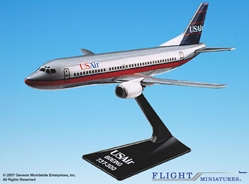 USA Airways (89-97) 737-300 (1:180), Flight Miniatures Snap-Fit Airliners Item Number BO-73730F-006