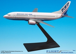 Boeing 737-300 House Colors (1:200), Flight Miniatures Snap-Fit Airliners, Item Number FMBOE003