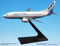 Boeing 737-500 House Colors (1:200), Flight Miniatures Snap-Fit Airliners, Item Number BO-73750H-001