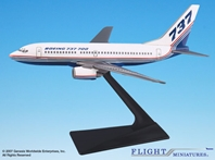 Boeing Demo (81-04) 737-700 (1:200), Flight Miniatures Snap-Fit Airliners, Item Number BO-73770H-001