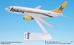Midway (93-01) 737-700 (1:200), Flight Miniatures Snap-Fit Airliners, Item Number BO-73770H-007