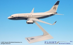 Boeing Business Jet 06-Cur 737-700 (1:200), Flight Miniatures Snap-Fit Airliners, Item Number BO-73770H-022