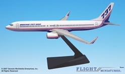 Boeing 737-900/w House Colors (1:200), Flight Miniatures Snap-Fit Airliners, Item Number BO-73790H-004