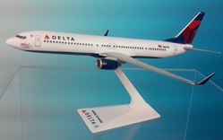 "Delta 737-900 07-current Livery N827DN ""C.E. Woolman Special Edition"" (1:200), Flight Miniatures Snap-Fit Airliners, Item Number BO-73790H-008"