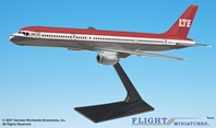 LTE 757-200 (1:200), Flight Miniatures Snap-Fit Airliners, Item Number BO-75720H-003