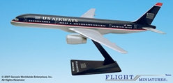 US Airways 757-200 (1:200), Flight Miniatures Snap-Fit Airliners, Item Number BO-75720H-052