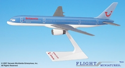 Britannia 757-200 (1:200), Flight Miniatures Snap-Fit Airliners, Item Number BO-75720H-055