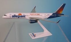 Allegiant Air 757-200 (1:200) w/winglets, Flight Miniatures Snap-Fit Airliners, Item Number BO-75720H-059