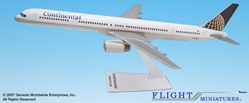 Continental 757-300 (1:200), Flight Miniatures Snap-Fit Airliners, Item Number BO-75730H-003