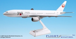 Japan Airlines (90s Scheme) B777-200 (1:200), Flight Miniatures Snap-Fit Airliners, Item Number BO-77720H-005