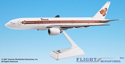 Thai 777-200 (1:200), Flight Miniatures Snap-Fit Airliners, Item Number BO-77720H-008
