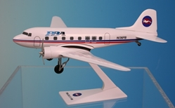 PBA (Providence Boston Airlines) DC-3 (1:100), Flight Miniatures Snap-Fit Airliners, Item Number DC-00300C-010