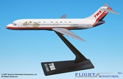 TWA DC-9 (New Colors) (1:200), Flight Miniatures Snap-Fit Airliners, Item Number DC-00903H-010