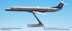 United Express (93-04) RJ145 (1:100), Flight Miniatures Snap-Fit Airliners Item Number EM-14500C-003