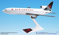 Air Canada L-1011 (1:250), Flight Miniatures Snap-Fit Airliners, Item Number LK-10110I-014