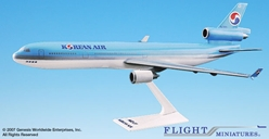Korean Air MD-11 (1:200), Flight Miniatures Snap-Fit Airliners, Item Number MD-01100H-011