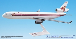 Thai MD-11 (1:200), Flight Miniatures Snap-Fit Airliners, Item Number MD-01100H-013