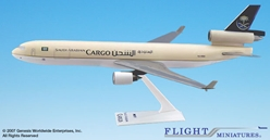 Saudi Cargo MD-11 (1:200), Flight Miniatures Snap-Fit Airliners, Item Number MD-01100H-022