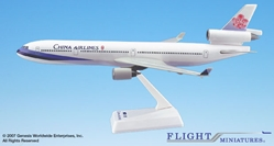 China Airlines MD-11 (1:200), Flight Miniatures Snap-Fit Airliners, Item Number MD-01100H-023