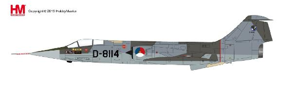 F-104G Starfighter Die Cast Model D-8114, Royal Netherlands Air Force(1:72) - Preorder item, order now for future delivery