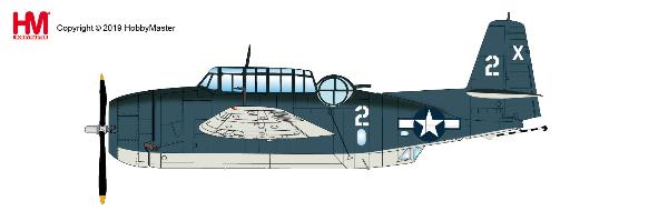 TMF-1C Avenger Barbara III, VT-51, USS San Jacinto, 1944 (1:72) - Preorder item, order now for future delivery, Hobby Master Diecast Airplanes, Item Number HA1221