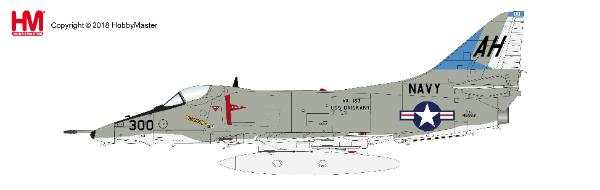 A-4E Skyhawk Die Cast Model, John McCain, VA-163, USS Oriskany, Vietnam War (1:72) - Preorder item, order now for future delivery , Hobby Master Diecast Airplanes, Item Number HA1429