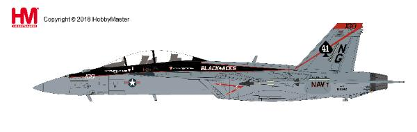 F/A-18F Super Hornet Die Cast Model, VFA-41 Black Aces CAG, USS John C. Stennis, U.S. Navy , 2012 (1:72) - Preorder item, order now for future delivery , Hobby Master Diecast Airplanes, Item Number HA5111