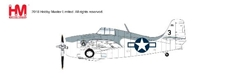 F4F-4 Wildcat VC-12, USS Core, 1944 (1:48) - Preorder item, order now for future delivery, Hobby Master Diecast Airplanes, Item Number HA8903