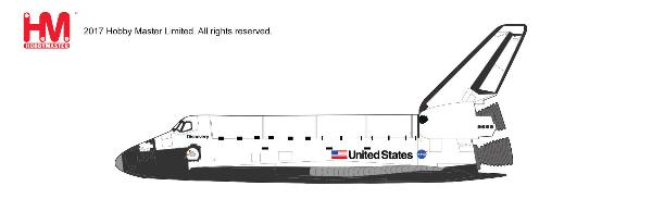 Space Shuttle Discovery Die Cast Model, OV-103, Oct. 29, 1998 (1:200) - Preorder item, order now for future delivery , Hobby Master Diecast Airplanes, Item Number HL1405
