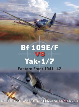 Bf 109 Vs Yak-1/7, Osprey Publishing Item Number OSPDUE65