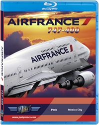 Air France 747-400 (BluRay DVD), Just Planes Aviation Blu-Ray Item Number JPAFR5B