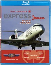 Jazz CRJ-200 (West Coast), Just Planes Aviation Blu-Ray Item Number JPJZA2B