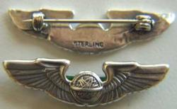 WWII Navigator Wings Sterling, Weingarten Gallery Item Number P-1189