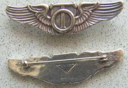 Technical Observer Wing Sterling, Weingarten Gallery Item Number P-1179