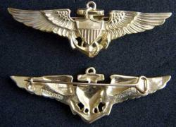 WWII Navy Pilot Angus and Coote Sterling, Weingarten Gallery Item Number P-1826