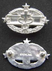 Combat Medical Badge 4rd Award Mess Dress, Weingarten Gallery Item Number P-1986