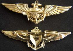 WWII Navy Catalina Pilot Wing Sterling, Weingarten Gallery Item Number P-1800C