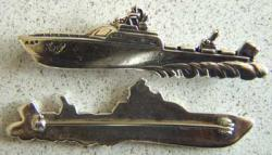 AAF Crash Boat Sterling Pin, Weingarten Gallery Item Number P-1355