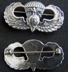 Paratrooper Officer Pin, Weingarten Gallery Item Number P-1687-O