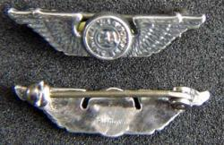 WWII CAA War Traning Service Lapel Pin Sterling, Weingarten Gallery Item Number P-1846