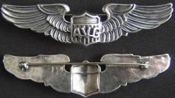 WWII AVG Flying Tigers Wing Sterling, Weingarten Gallery Item Number P-1701