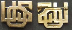 USO - Sterling w Gold Plate, Weingarten Gallery Item Number P-1641G